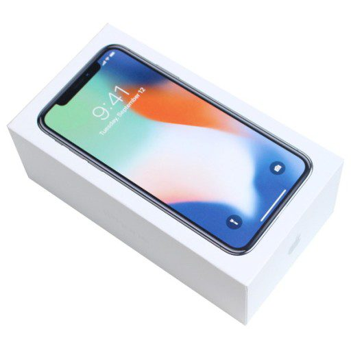 Iphone X Box with Original Accessories